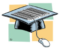 Chris Serra - graduation cap 'leading to' mouse pad - www.illustrators.net/serra/images/serra02.jpg